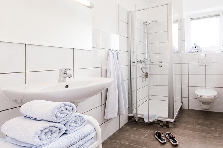 Ferienwohnung - Badezimmer