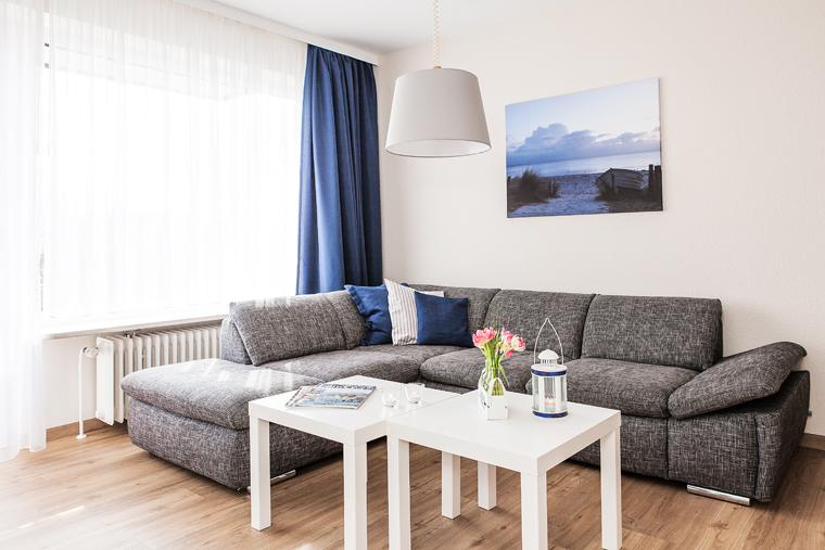 Ferienwohnung - Wohnzimmer